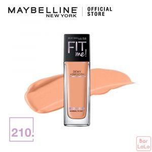 MAYBELLINE FIT ME DEWY & SMOOTH FOUNDATION 210 SANDY BEIGE 30ML(G3748700)-67907