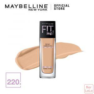 MAYBELLINE FIT ME DEWY & SMOOTH FOUNDATION 220 NATURAL BEIGE 30ML(G3748800)-67908