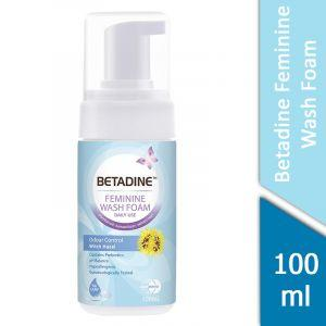 Betadine Feminine Wash Foam (Odour Control Witch Hazel) (100ml)