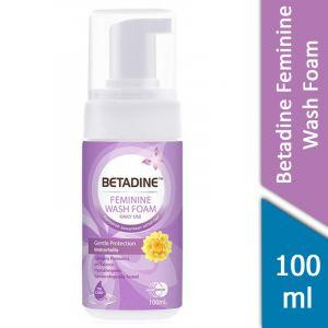 Betadine Feminine Wash Foam (Gentle Protection Immortelle) (100ml)