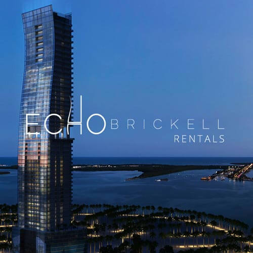 ECHO BRICKELL CONDOS FOR RENT