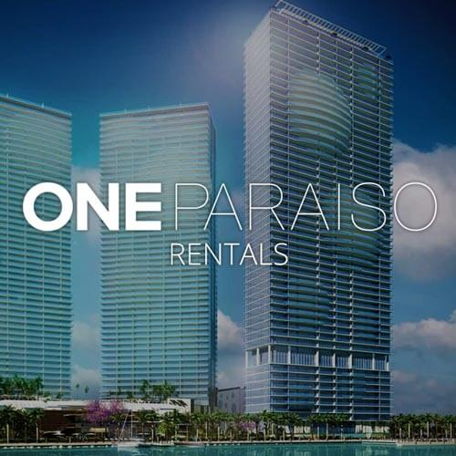 ONE PARAISO CONDOS FOR RENT