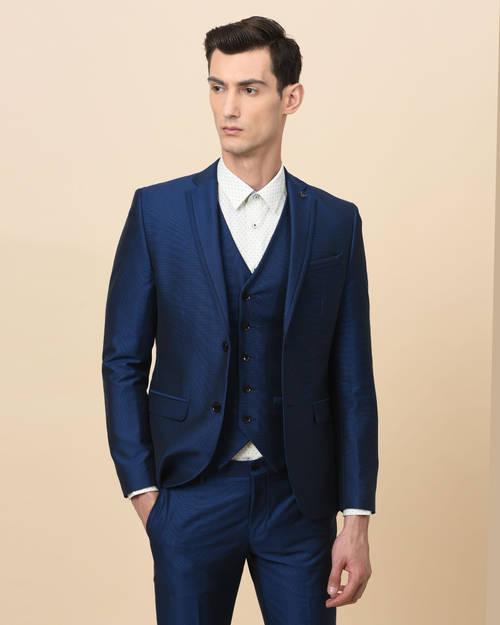 Royal Blue Slim Fit Suits
