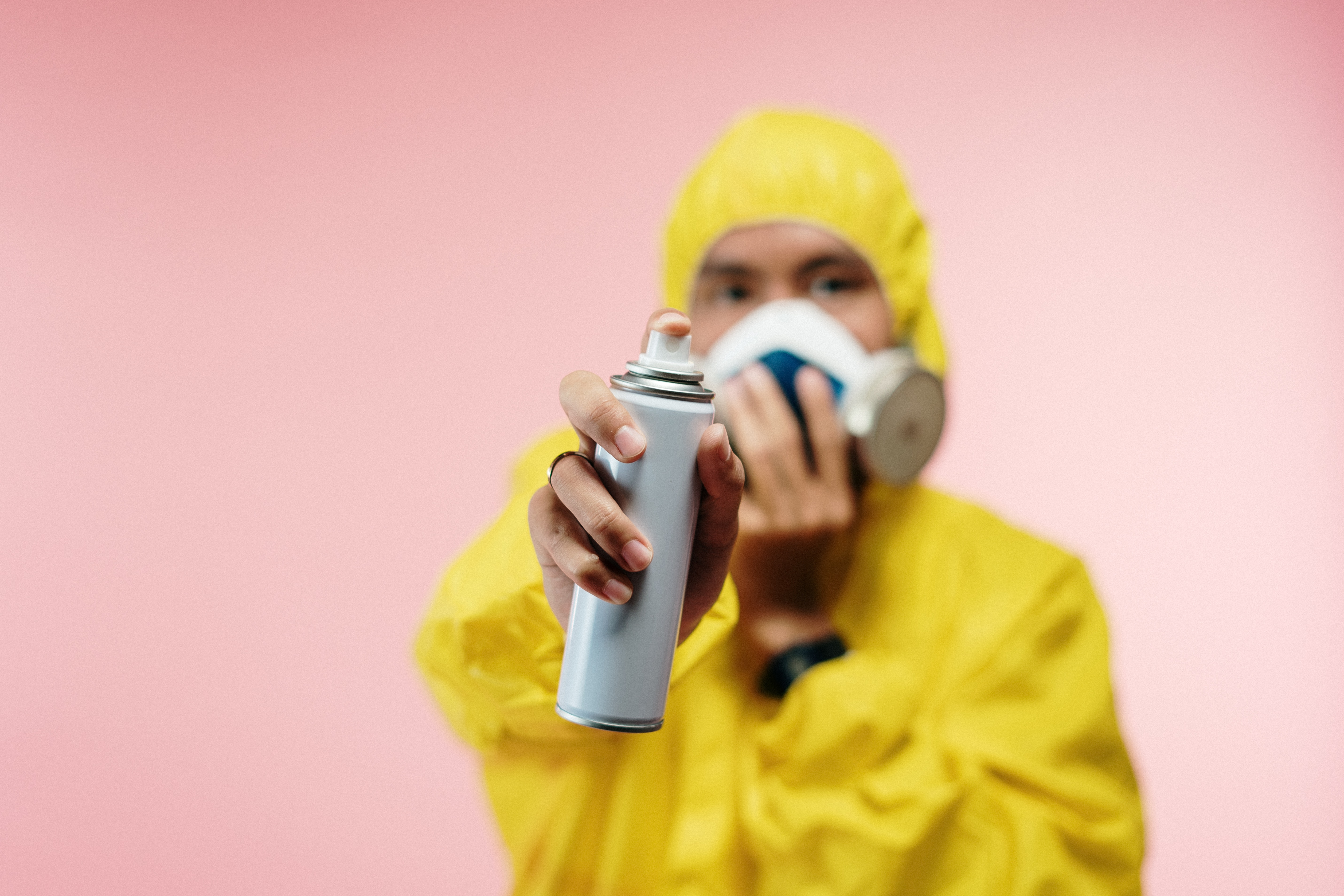 A women cleaning her home for coronaVirus