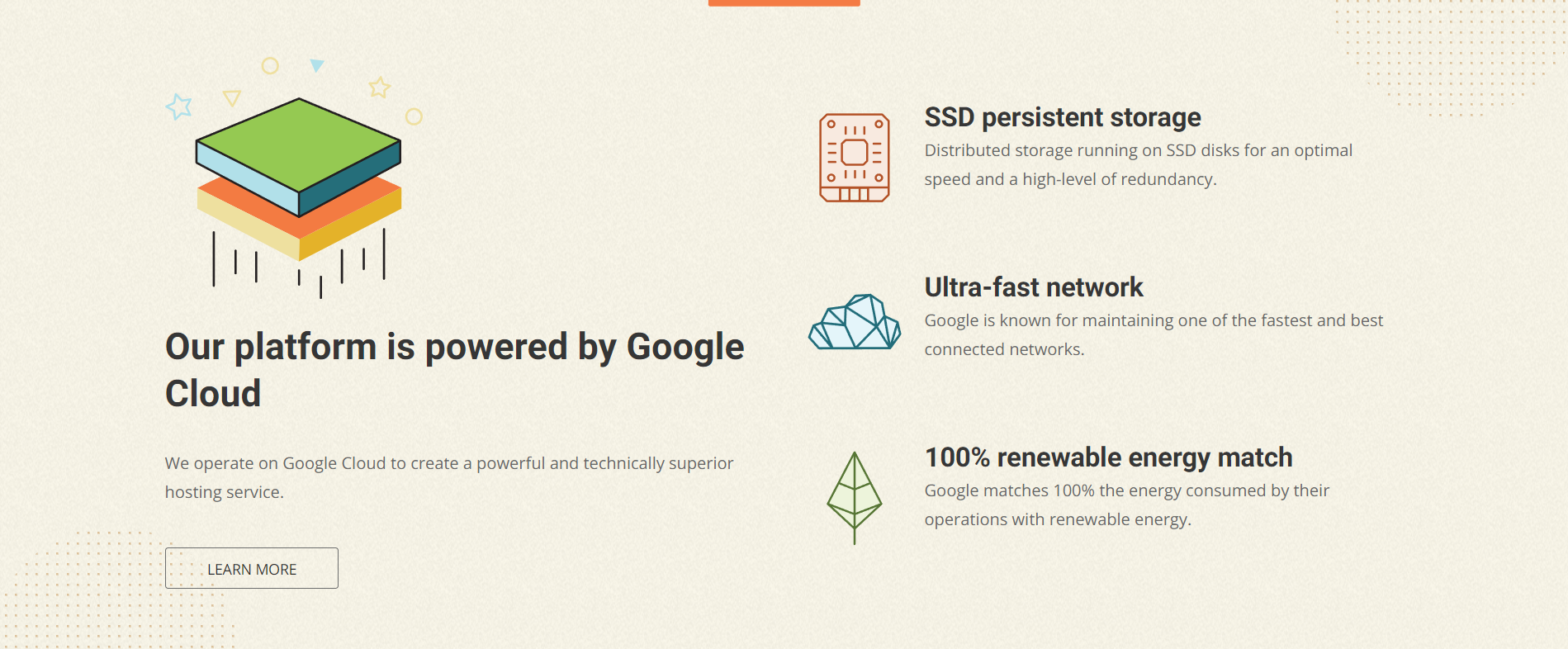 image of Cloudway hosting site