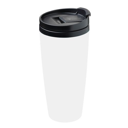 Isolierbecher 'Coffee To Go' (Art.-Nr. CA063537) - Doppelwandiger Isolierbecher aus Kunstst...