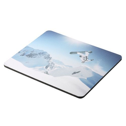 Mousepad 'Sublimation' (schwarz / weiß) (Art.-Nr. CA072074)