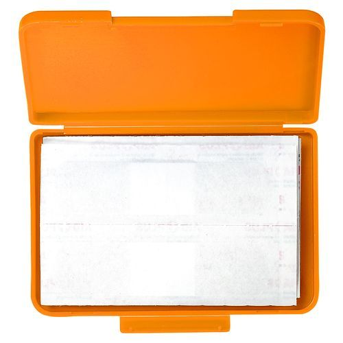 Notfall-Set 'Pflaster Box' (standard-orange) (Art.-Nr. CA284832)