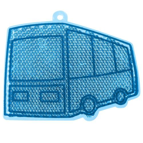 Reflektor 'Bus' (transparent-blau) (Art.-Nr. CA444369)