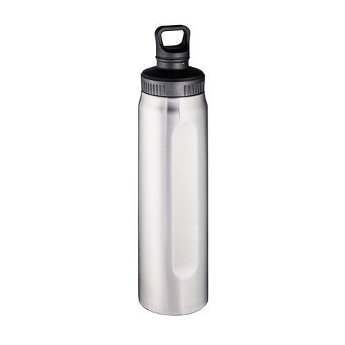 Thermo Trinkflasche RETUMBLER-DOVER SILVER (schwarz, silber) (Art.-Nr. CA065798)