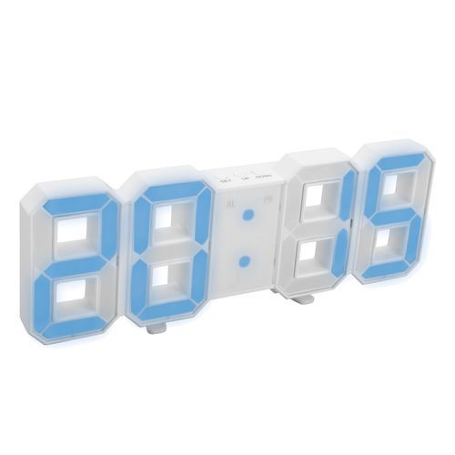 LED Digitaluhr GHOST (weiß) (Art.-Nr. CA385077)