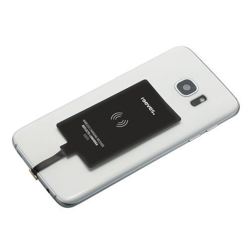 Wireless charging receiver (micro-USB) REEVES-LONDRINA (schwarz) (Art.-Nr. CA571642)