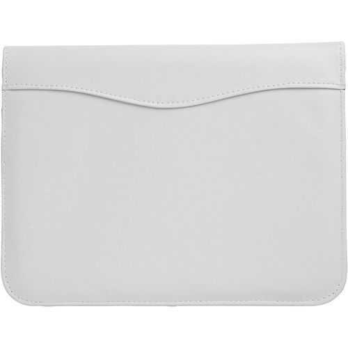 Ebony A4 portfolio-white (Art.-Nr. CA027781) - Portfolio with pen loop, document...