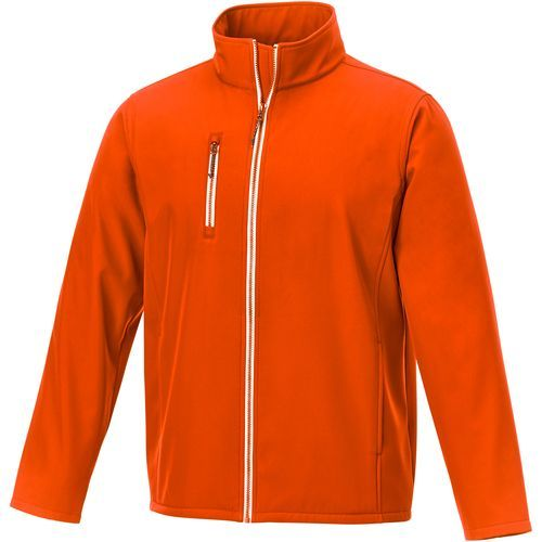 Orion Herren Softshelljacke (orange) (Art.-Nr. CA039051)