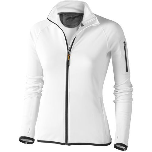 Mani Damen Powerfleecejacke (weiss) (Art.-Nr. CA059970)