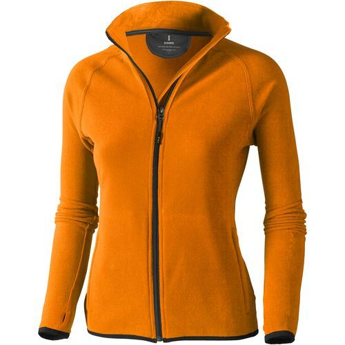 Brossard Damen Fleecejacke (orange) (Art.-Nr. CA062954)