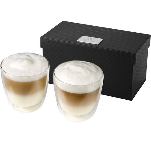 Boda 2 teiliges Kaffee Set (transparent) (Art.-Nr. CA137104)