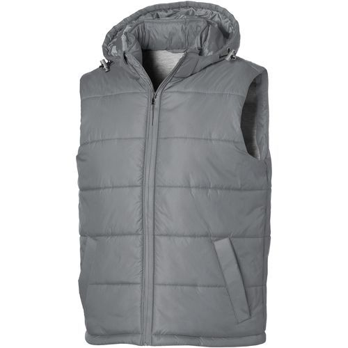 Mixed Doubles Bodywarmer mit Kapuze (grau) (Art.-Nr. CA257866)