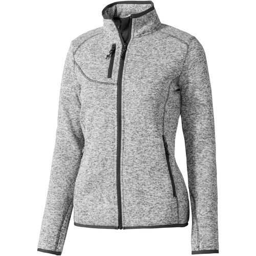 Tremblant Damen Strickfleece Jacke [XS] (heather grau) (Art.-Nr. CA406375)