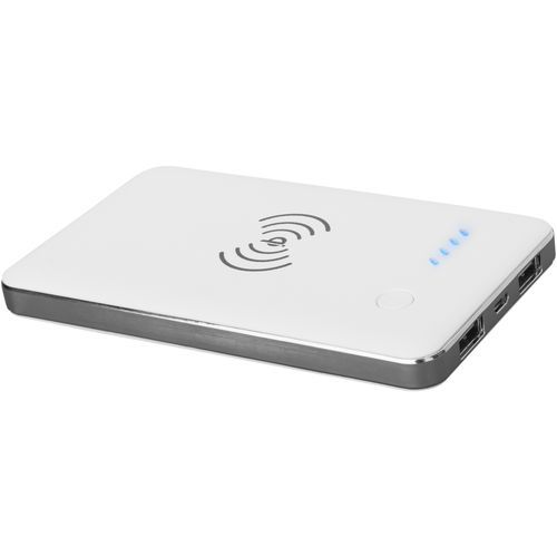Powerbank 4000 Qi® Wireless (weiss) (Art.-Nr. CA490051)