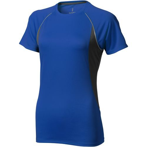 Quebec Damen T Shirt (blau,anthrazit) (Art.-Nr. CA610754)
