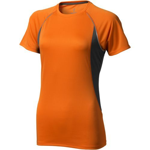 Quebec Damen T Shirt (orange,anthrazit) (Art.-Nr. CA636884)