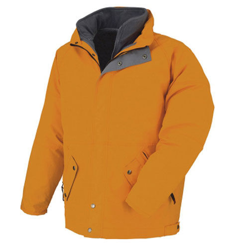 3-in-1 wind- und wasserdichter Parka (orange) (Art.-Nr. CA389254)