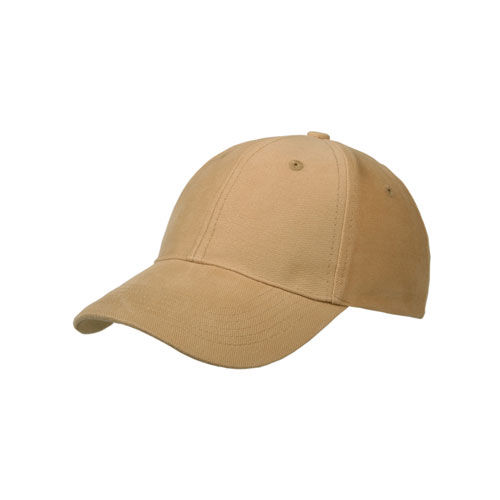 Heavy Brushed 6 Panel Cap (Sand) (Art.-Nr. CA033775)