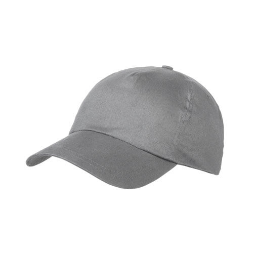 Brushed 5 Panel Cap (grau) (Art.-Nr. CA045683)