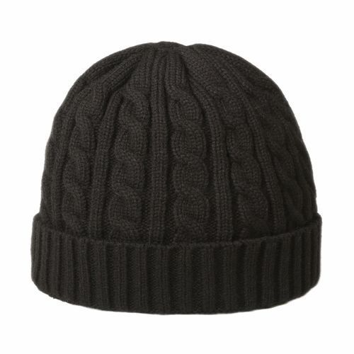 Luxury cable hat (schwarz) (Art.-Nr. CA046252)