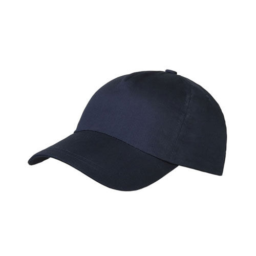Brushed 5 Panel Cap (marine) (Art.-Nr. CA077211)