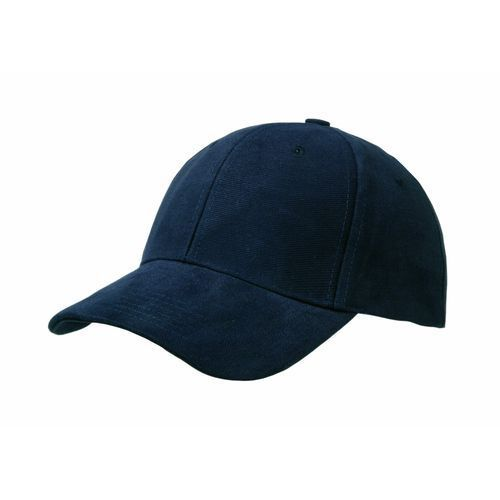 Heavy Brushed Cotton 6 Panel Cap (marine) (Art.-Nr. CA089739)