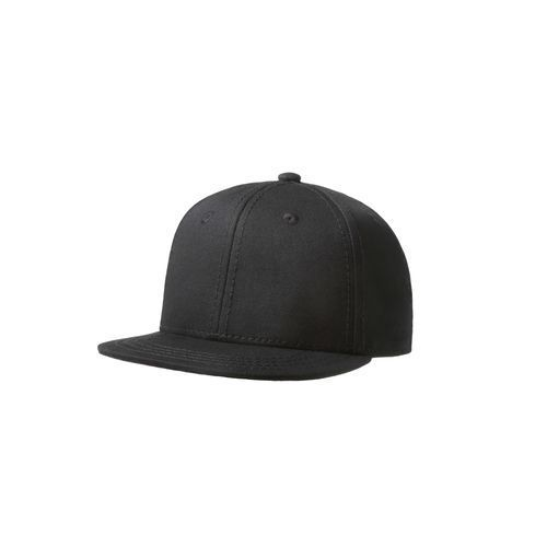 Original Snap Back Flat Visor Baby 6 Panel Cap (schwarz) (Art.-Nr. CA128559)