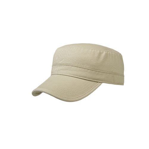 3 Panel Cotton Cap (Sand) (Art.-Nr. CA137164)