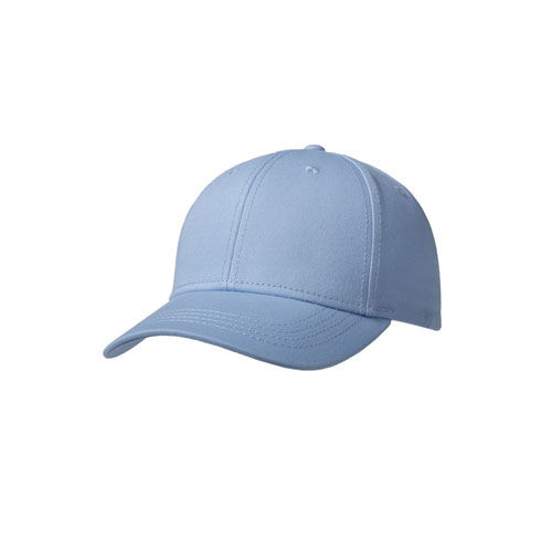 Luxury Fine Cotton 6 Panel Cap (hellblau) (Art.-Nr. CA174737)