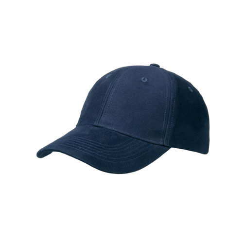 Heavy Brushed 6 Panel Cap (marine) (Art.-Nr. CA197651)