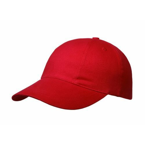 Brushed Cotton 6 Panel Turn Top Cap (Art.-Nr. CA198880)
