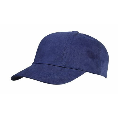 Brushed Cotton 6 Panel Turn Top (marine) (Art.-Nr. CA219431)