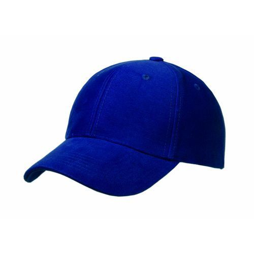 Heavy Brushed Cotton 6 Panel Cap (royal) (Art.-Nr. CA393700)