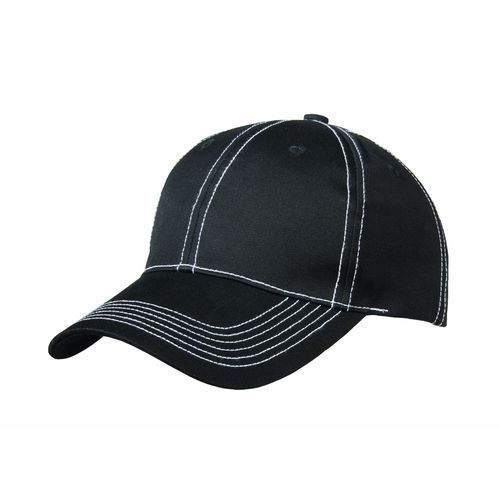 Light Canvas 6 Panel Cap (schwarz) (Art.-Nr. CA677363)