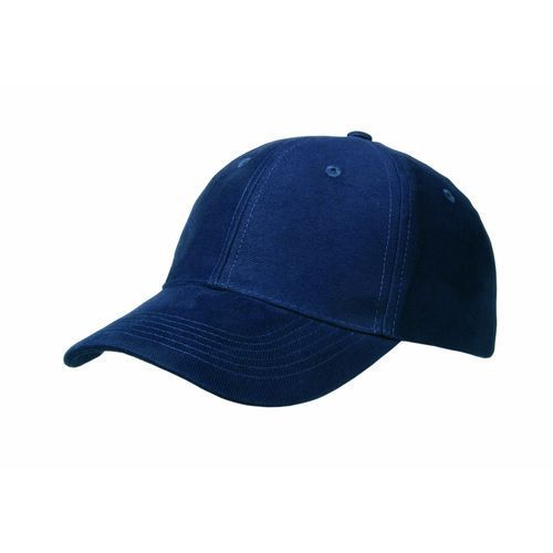 Brushed Cotton 6 Panel Brushed Cotton Cap (marine) (Art.-Nr. CA744264)