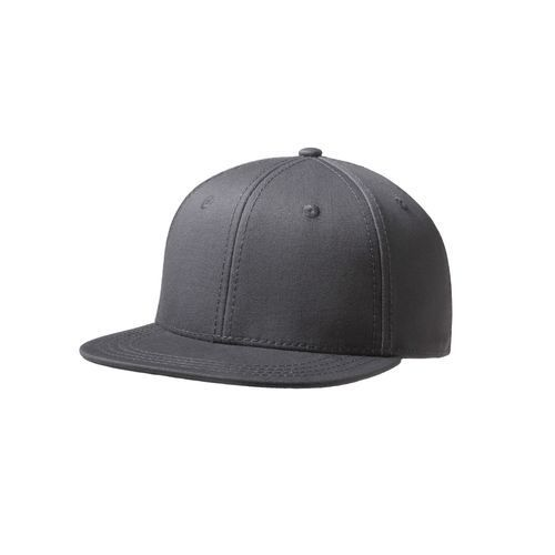 Original Snap Back Flat Visor Kids 6 Panel Cap (grau) (Art.-Nr. CA776410)