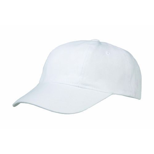 Brushed Cotton 6 Panel Turn Top (weiß) (Art.-Nr. CA933174)