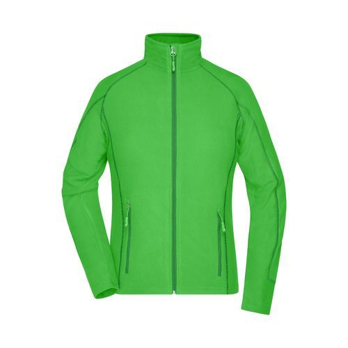 Ladies' Structure Fleece Jacket - Leichte Outdoor-Fleecejacke (grün) (Art.-Nr. CA002402)