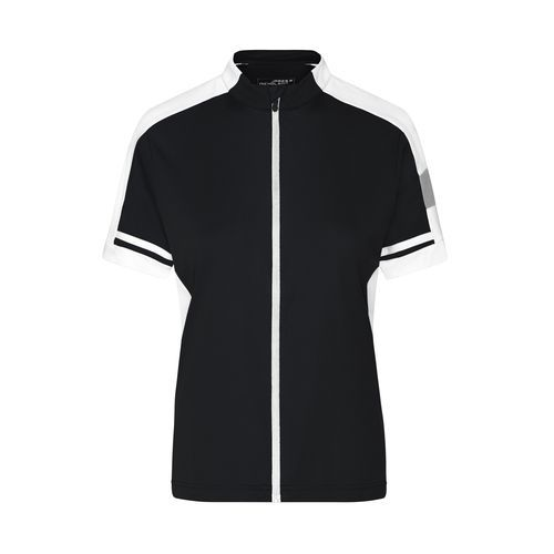 Sportives Bike-Shirt (schwarz) (Art.-Nr. CA003945)