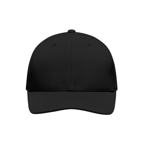 Funktionelles 6 Panel Cap (schwarz) (Art.-Nr. CA012819)