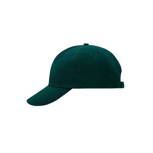 Klassisches 5 Panel Cap aus heavy brushed Cotton (grün) (Art.-Nr. CA014539)