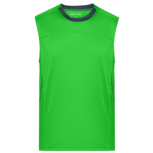 Men's Running Tank - Atmungsaktives Lauf-Top (grün) (Art.-Nr. CA022314)