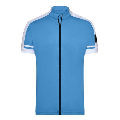 Men's Bike-T Full Zip - Sportives Bike-Shirt (blau) (Art.-Nr. CA023005)