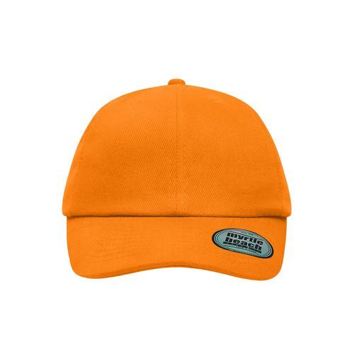 Klassische 6-Panel Cap (orange) (Art.-Nr. CA028677)